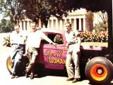 Preacher Hamilton, Marty Robbins, and Bud Hamilton 1958