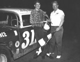 1965 Bobby Allison and Forrest Prince victory lane.