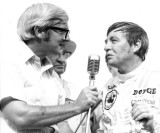 1970 420 Joe Carver and Bobby Isaac victory lane.