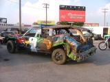 Nashville Fairgrounds Speedway. Knock-out race.