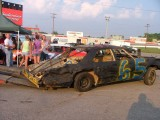 Nashville Fairgrounds Speedway. Knock-out race Winner.