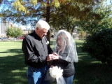 My wedding day with my wife Beverly.