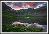 Clear Lake Basin at Sunset
