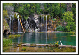 Bridal Veil Falls and Hanging Lake