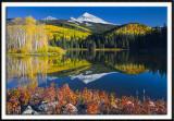 Wilson Peak Reflected In Woods Lake