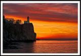 Sunrise Sky Over Split Rock Lighthouse