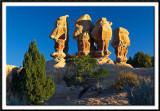 Rock Statues in the Devils Garden
