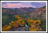 Sycamore Canyon in Autumn