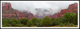 Rain Clouds Over Fay Canyon
