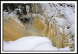 Ice Abstract Along The Cascade River