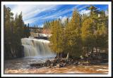 Lower Falls on the Gooseberry River