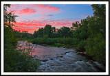 Pine River at Sunset
