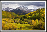 Autumn Storm Moving In Over Mt. Sneffels