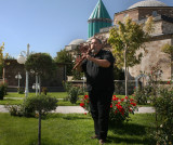 Me in Mevlana  rose garden 2.JPG