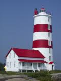 Phare de Pointe-des-Monts Lighthouse