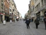 A pedestrian street in Reims