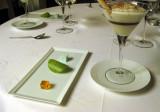 Mini sweets accompany the Irish whiskey dessert