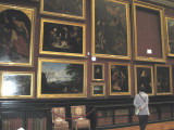 The art gallery in the main chateau