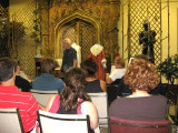A brief lecture precedes the tour