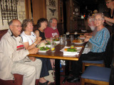Dinner at Othello's bar and restaurant