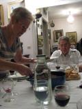 Diner chez Pippo et Brigitte
