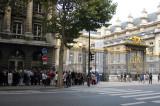 The queue to enter the Saint Chapelle