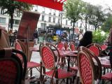 Caf� on rue Saint Antoine