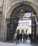 Entrance to Carnavalet Museum