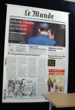 Several front pages were posted