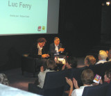Philosopher Luc Ferry was interviewed by Robert Sole