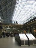 St. Pancras International Station for
