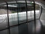 Exit doors of the pavilion