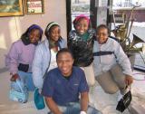 Visitors from Zimbabwe