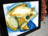 painting entitled Frog