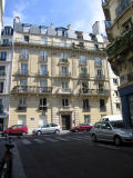 View of rue Lacépède from rue de la Clef