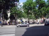 View of Place Monge from rue Monge