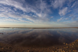 Chott el Djerid, salt lake in southern Tunisia