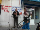 Hammamet - The hard life of the newspaper reader.