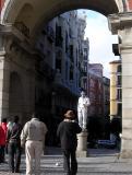Mimo en la Plaza Mayor