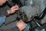Setting the valve lash.