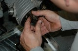 Remove rocker arm assemblies and pushrods