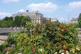 La place du Châtelet photographiée du Quai aux Fleurs