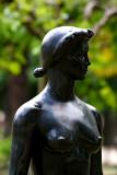 JEANNETTE (Bronze)  - Paul BELMONDO - JARDIN DES TUILERIES
