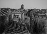 Vy mot Campanile San Cesareo