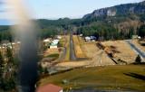 narrow runway at Eatonville (2W3)