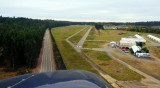 final adjustment to runway 18 - Port Orchard