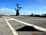 flight deck and flag