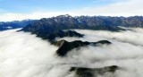 sea of cloud to Mt Constance