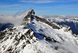 cloud forms over Sloan Peak