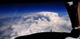 Thunderstorm top 46000 feet